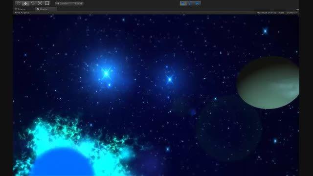 تریلر دروازه ی 2 ستاره در یونیتی انجین 4.6-نمونه کار من