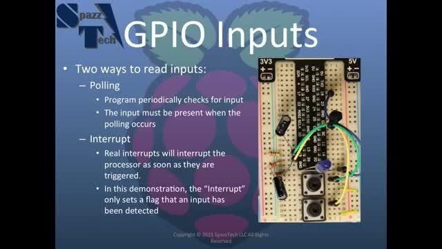 Learn C Programming on Raspberry Pi - 08 - Reading GPIO