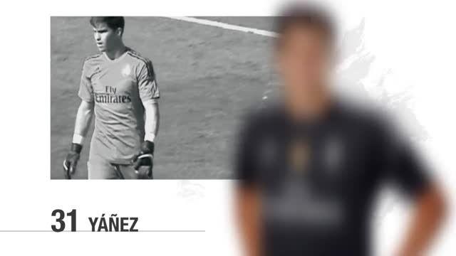 20 بازیکن رئال مادرید برای بازی مقابل گیخون