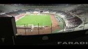 هلی شات در ورزشگاه آزادی