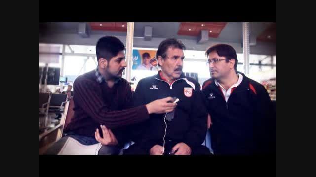 تبریک نوروزی تونی اولیویرا به هواداران تراکتورسازی