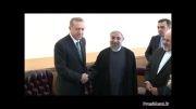 آقای روحانی با رئیس جمهور ترکیه دیدار کردند