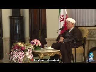 آیت الله هاشمی رفسنجانی:دولت سابق اخلاق را فروپاشاند...