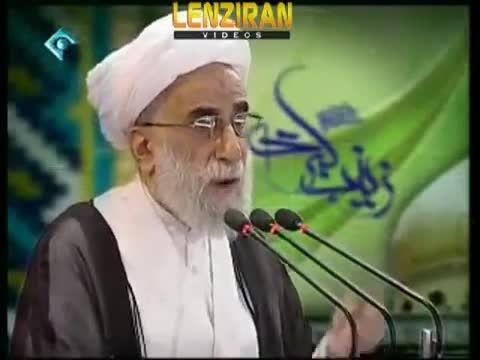 اعتراض ایت الله جنتی به احمدی نژاد و مشایی