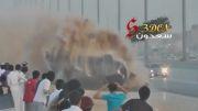 حادثه عجیب رانندگی در دریفت عربستان 2012