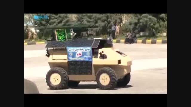 اقتدار ارتش و رونمایی از 5 دستاورد جدید نظامی