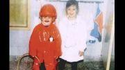 مسی و خواهرش در کودکی
