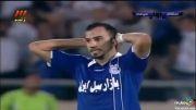 استقلال 1 - 2 سپاهان/ هفته دوم لیگ برتر خلیچ فارس 92.93