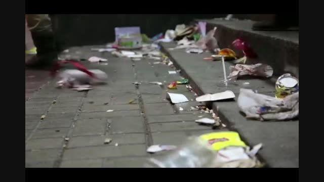 آیا علم می تواند مانع ریختن زباله توسط افراد شود؟