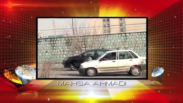 مهسا احمدی بانوی بدلکار ایرانی برنده جایزه هالیوود