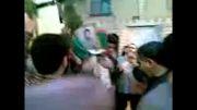 پایگاه جُندالله شهید محله آمل - تشییع پیکر شهید شفیق