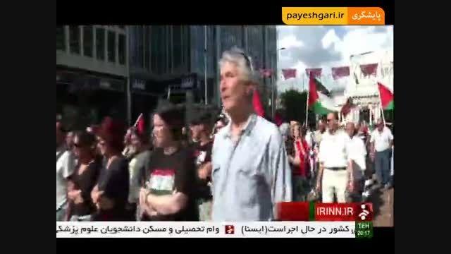 اعتراض ایتالیایی ها به حضور رژیم صهیونیستی در نمایشگاه
