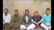 ویدئو منتشر شده از مرزبانان ربوده شده