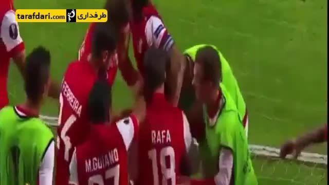 گلزنی بازیکن مصری یک روز پس از درگذشت پدرش