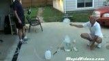 انفجار حباب صابون