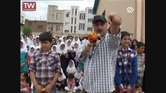 مسابقه محله در شهر صوفیان