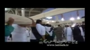 تعویض پرده بیت الله الحرام نهم ذی الحجه مصادف با 22/7/92