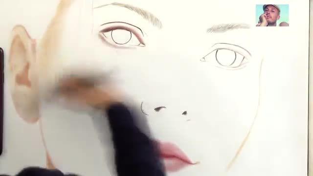 طراحی خیره کننده از چهره