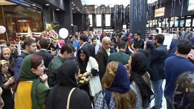 عطر سفیر -تصاویری از افتتاحیه فروشگاه جدید در ارگ تجاری