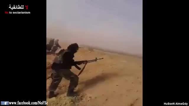 دفع حمله داعش در منطقه حدیثه توسط مردان قبیله الجغایفة