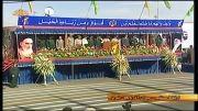 رژه دلاورمردان سپاه عاشورا در آغاز هفته دفاع مقدس