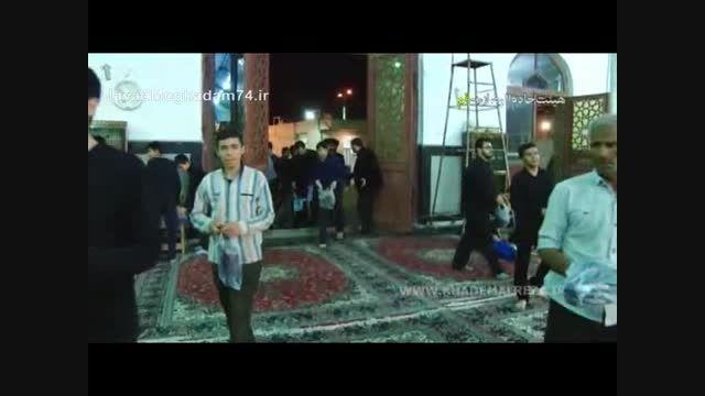 پشت صحنه عوامل اجرائی مراسم بزرگ شهادت امام موسی کاظم ع