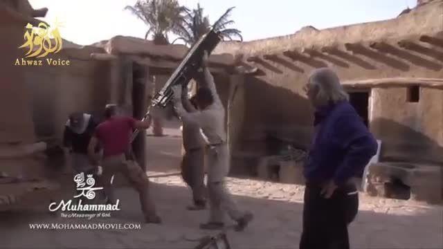 قسمت هایی از پشت صحنه فیلم محمد رسول الله (ص) - (2)