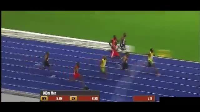مسابقه چیتا با انسان (دو 100 متر) با شبیه سازی 3D