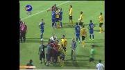 جنجال عابدزاده در بازی استقلال خوزستان و راه آهن