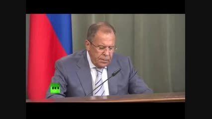 ناسزای وزیر خارجه روسیه به وزیر خارجه آل سعود صهیونیستی