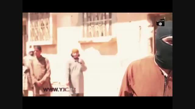 اعدام فجیع جوان سوری توسط داعش + فیلم