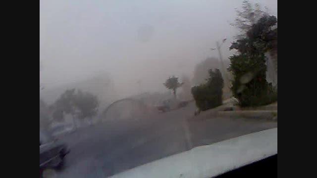 طوفان در استان البرز