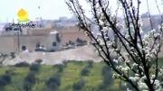 حمله خمپاره ای به پایگاه ارتش سوریه