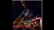 گیتار زدن امین زارعی آهنگ عشق فوق العاده1392