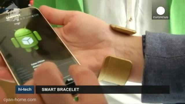 دستبند تاگو آرک با صفحه نمایش الکترونیکی