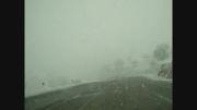 بارش برف مسیر ایوان غرب به ایلام