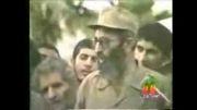 سخنرانی ایت الله خامنه ای در منطقه ای دیگر از جبهه