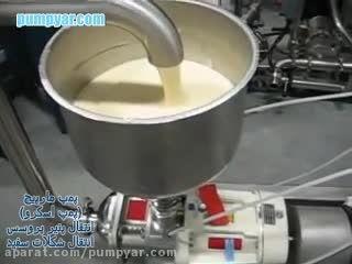 پمپ مارپیچ (اسکرو Screw Pump) - صنایع غذایی و بهداشتی