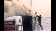 زندگی دشوار مامور آتش نشانی