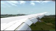 فرود در انتالیا با 777