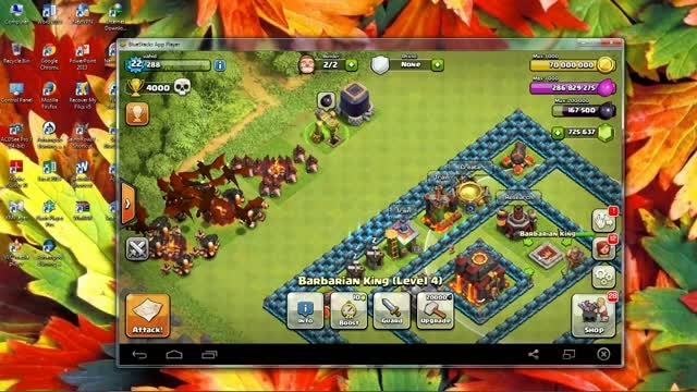 بازی Clash of Clans - الماس بی نهایت - نسخه 7.2.2
