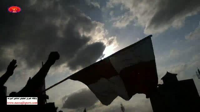 برافراشته شدن پرچم نساجی پس از زدن گل اول به اردبیل