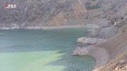 کاهش شدید آب سد کرج