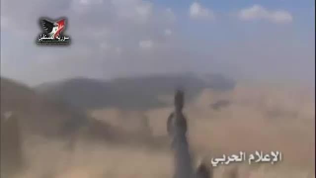 القلمون - حمله ارتش سوریه و حزب الله به مواضع داعش
