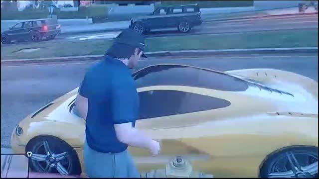 گردش در شهر  GTA V (همراه با مکانی مخفی)