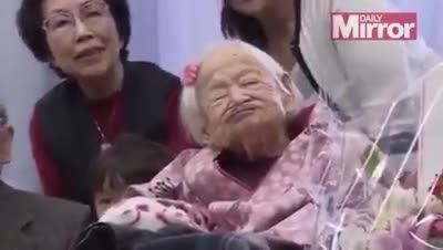 پیرترین فرد جهان در سن 117 سالگی درگذشت