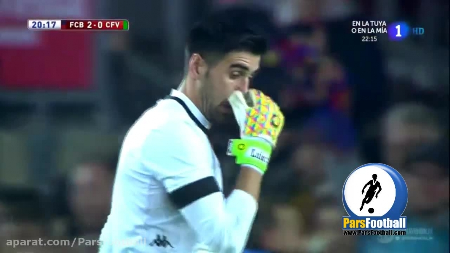 صعود بارسلونا با پیروزی پرگل مقابل ویانوونسه