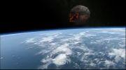 زمین بعد از برخورد اذر گوی بزرگ