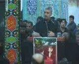 حسین فخری ایام فاطمیه مسجد باهنر
