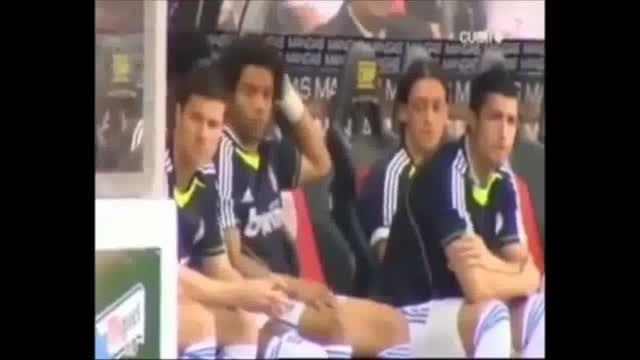بطری آب کار دست مدافع رئال مادرید داد